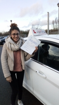 Savel is the latest pupil to pass with 1week2pass driving school