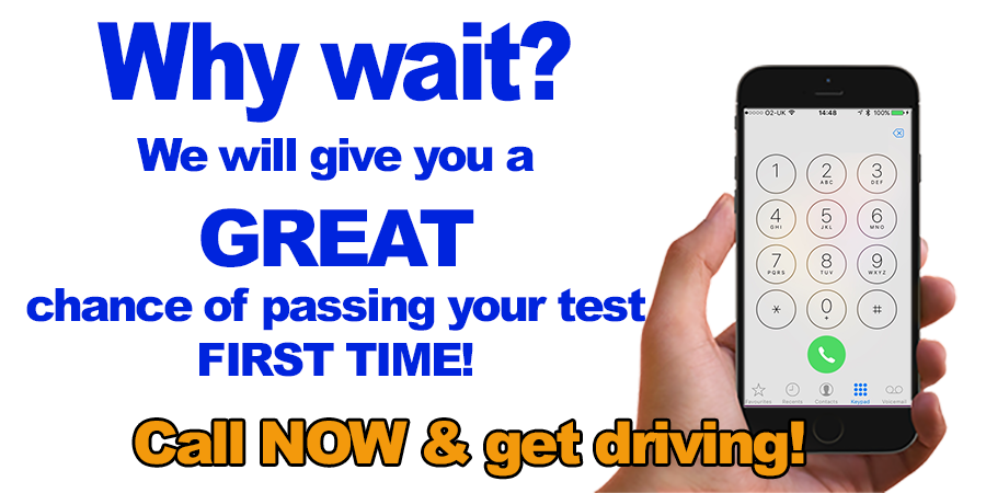 Driving lessons with 1 week 2 pass